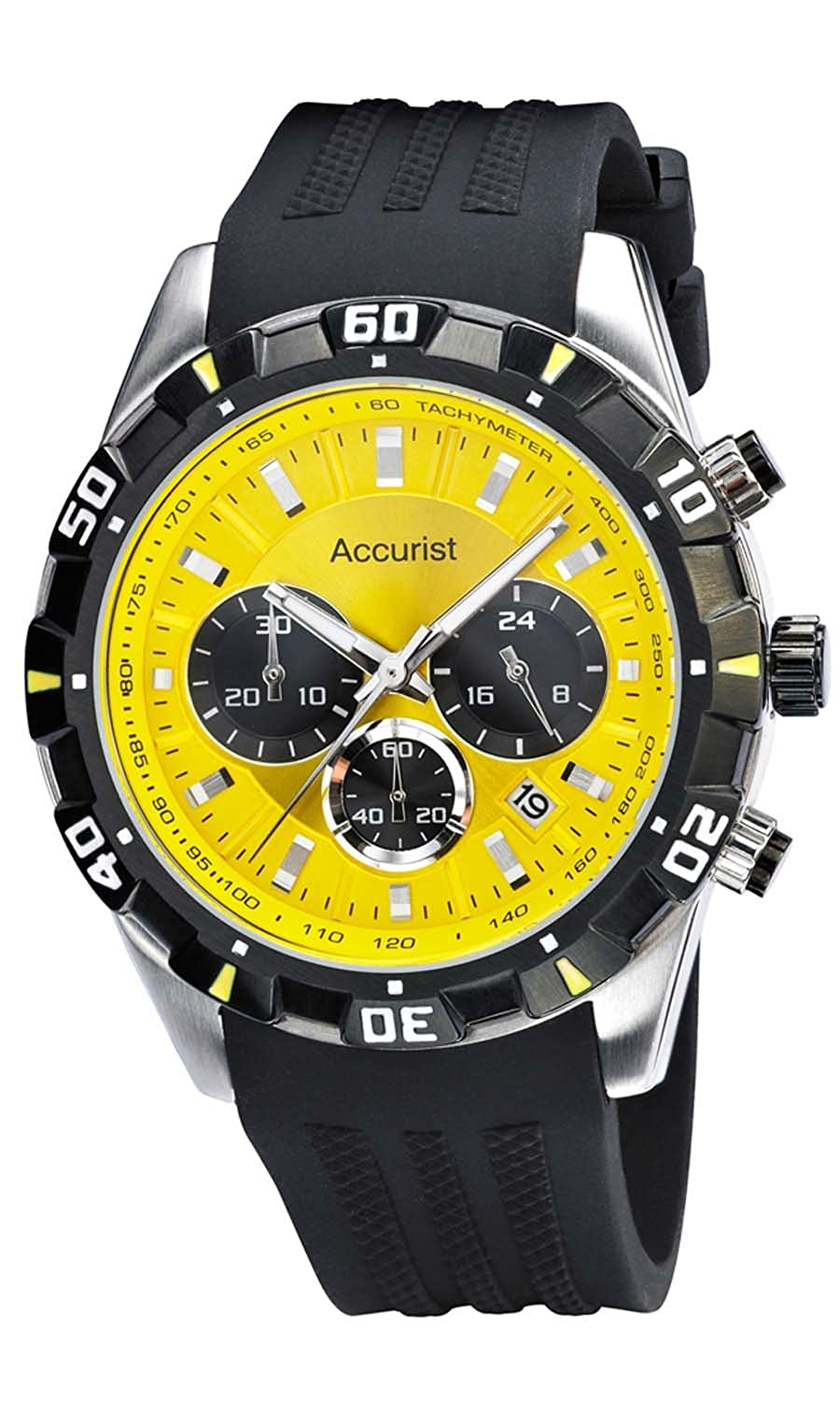 amazon watches wrist watch ricci casual yellow dial ca bianci men s analog roberto