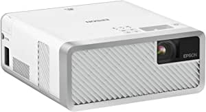 Epson Home Theater Laser Projector, 2000 Lm Epson EF-100W, White and Silver, (V11H914053)