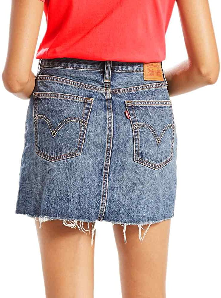 Falda Levis – Deconstructed Beetlebum azul talla: 25 Usa – 34 ...
