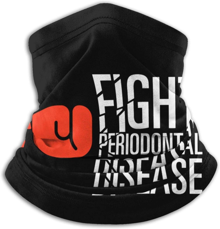 Lucha contra la enfermedad de Perio Microfibra cuello calentador Headwear bufanda clima frío invierno deportes al aire libre Bandana pasamontañas unisex