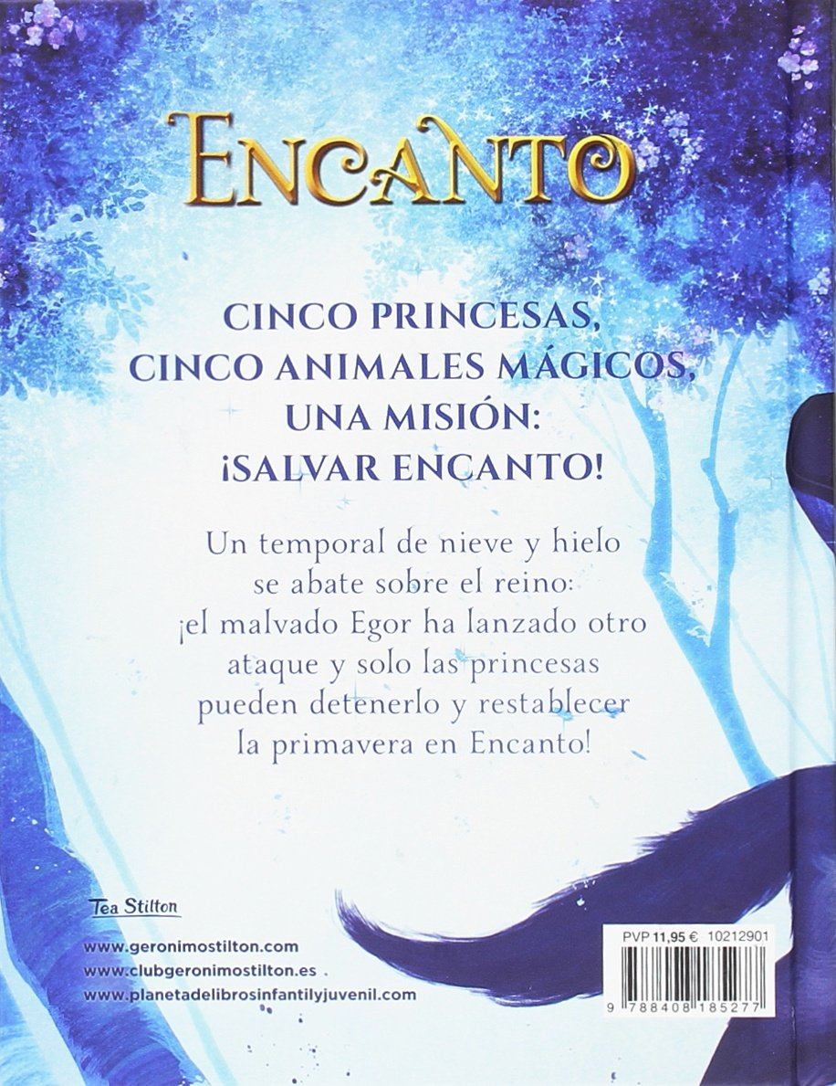El secreto de las princesas Tea Stilton. Encanto: Amazon.es: Tea Stilton, Miguel García: Libros