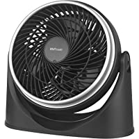MVPower Ventilator Tafelventilator Muur/Wand ventilator Vloerventilator Staande- Wandventilator 23 cm-35 Watt-Zwart