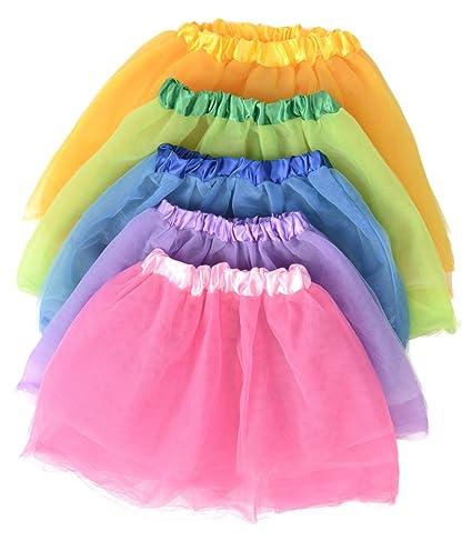 682fa3142 Amazon.com: Kangaroo's Princess Tutu Collection; (5-Pack) Ballet Tutus:  Toys & Games