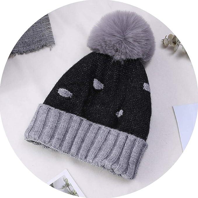 World-Palm Baby Boys Girls Pom Poms Hat Children Winter Hat for Girls  Knitted Beanies e163633e455