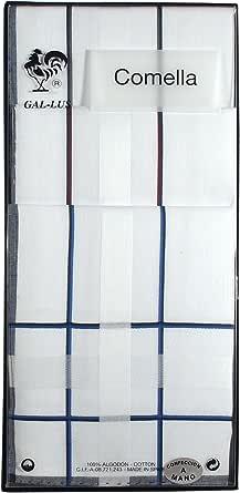 Gal-lus C-1164C/7 algodón, Blanco Con Satenes De Color, Tamaño del ...