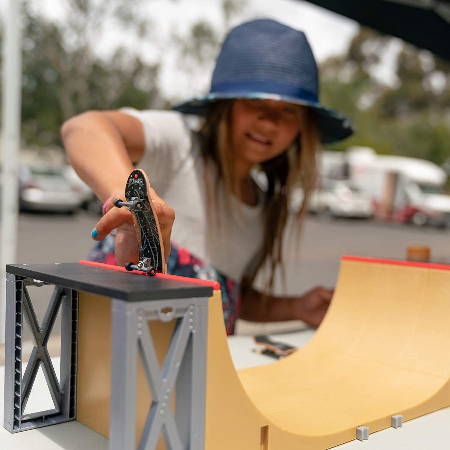 c8d44d0a5bd5a Tech Deck - Ultimate Half-Pipe Ramp and Exclusive Primitive Pro Model  Finger Board, for Ages 6 and Up
