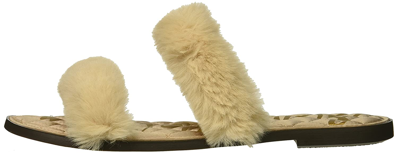 Sam Edelman Women's 8 Griselda Slide Sandal B07BRCWK8Z 8 Women's B(M) US|Champagne 3df19d
