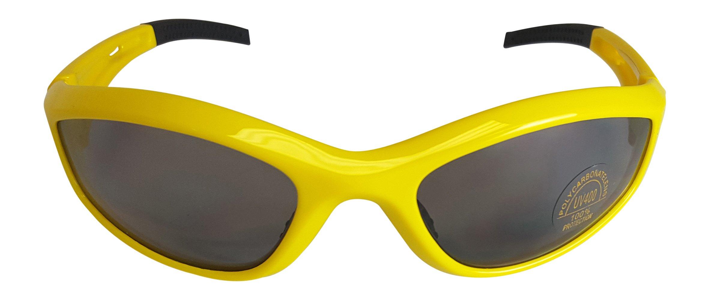 Hulk Hogan Retro Costume Sunglasses-Yellow