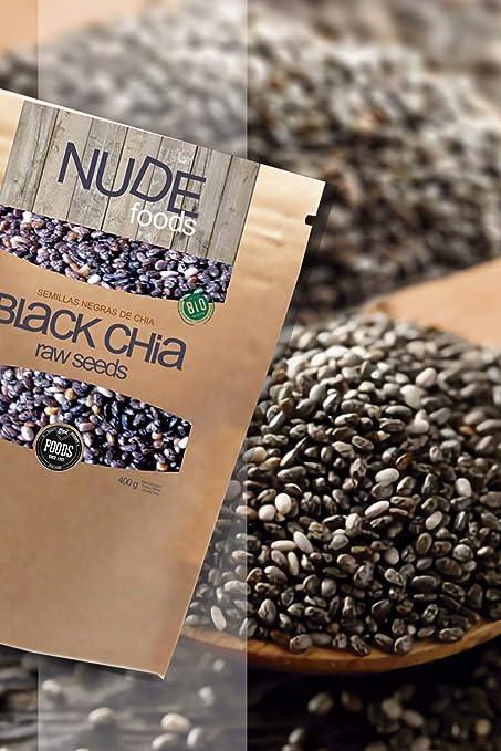 NUDE Chia Negra Premium | Bio Certificada | Fuente de Omega-3 ...