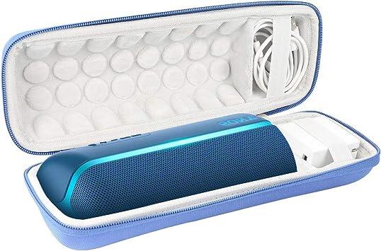 Khanka Duro Viaje Estuche Bolso Funda para Sony SRS-XB22 Altavoz inalámbrico portátil (Azul): Amazon.es: Electrónica