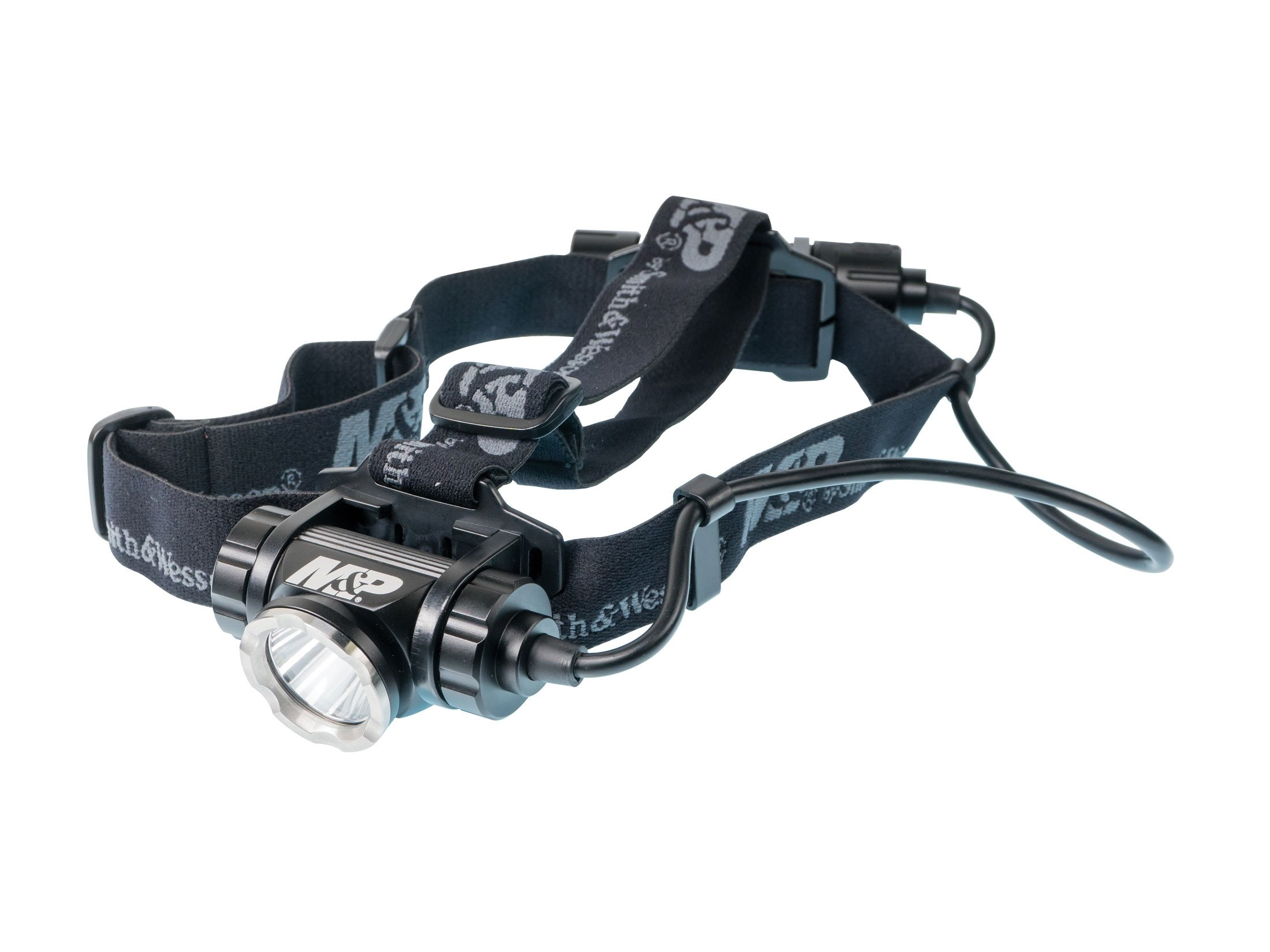 Smith & Wesson Delta Force HL-20 Headlamp LED with Rechargeable Li-Ion Battery Aluminum Black