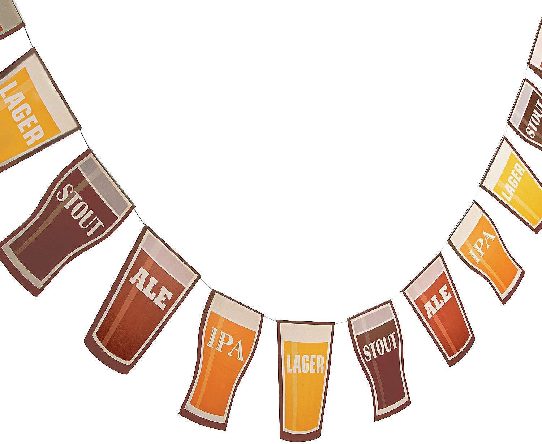 BEER GARLAND - Party Decor - 1 Piece