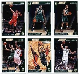 400662b3924 2016-17 Panini NBA Hoops Milwaukee Bucks Team Set of 12 Cards: Giannis  Antetokounmpo