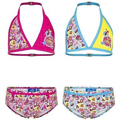 98ab3bd3c00e Soy Luna Soy Luna Bikini (6 Jahre, Blau) Bikinis  Amazon.de  Bekleidung
