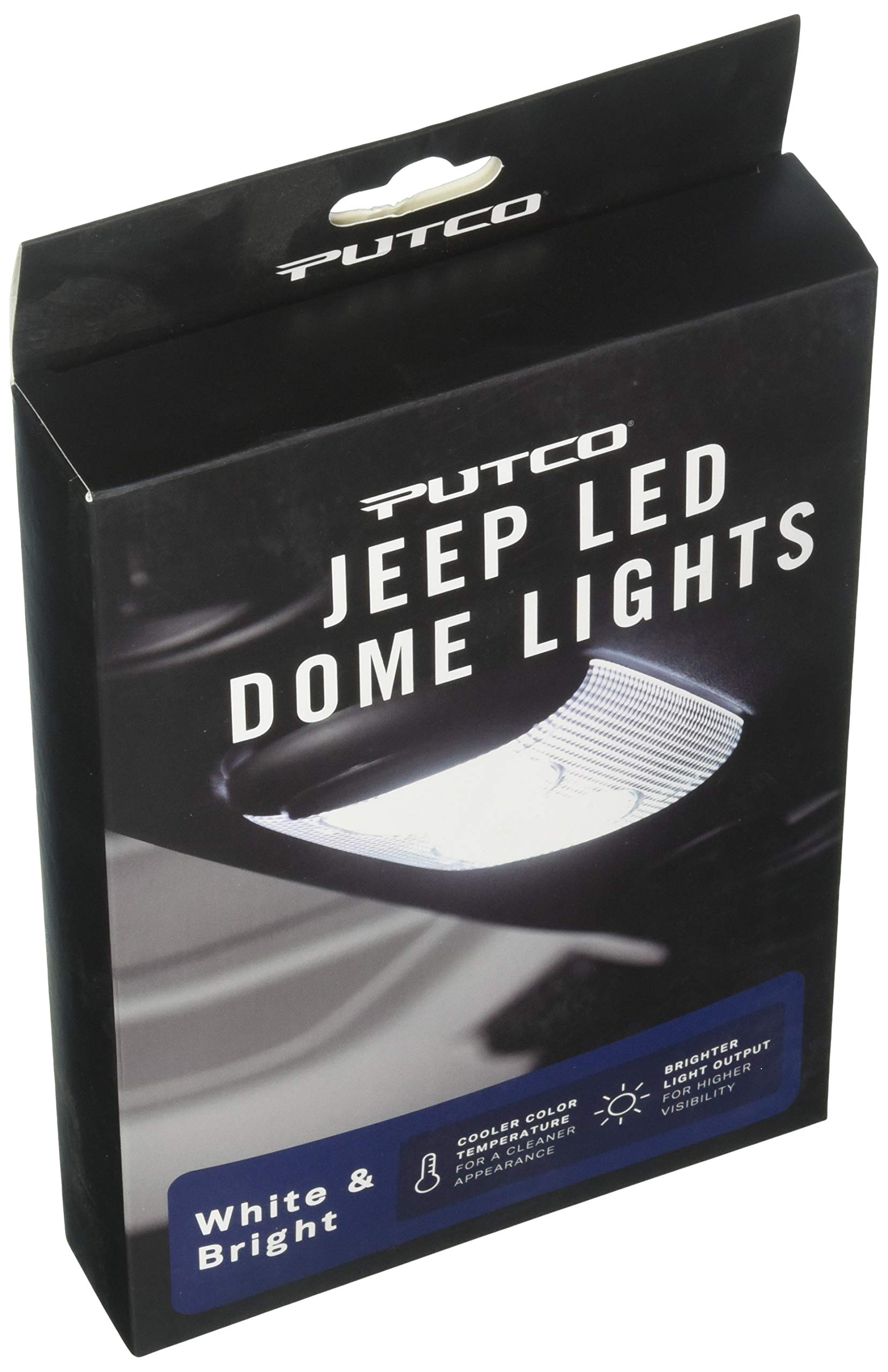Putco 980295 Premium LED Dome Light Kit for Jeep Wrangler Unlimited