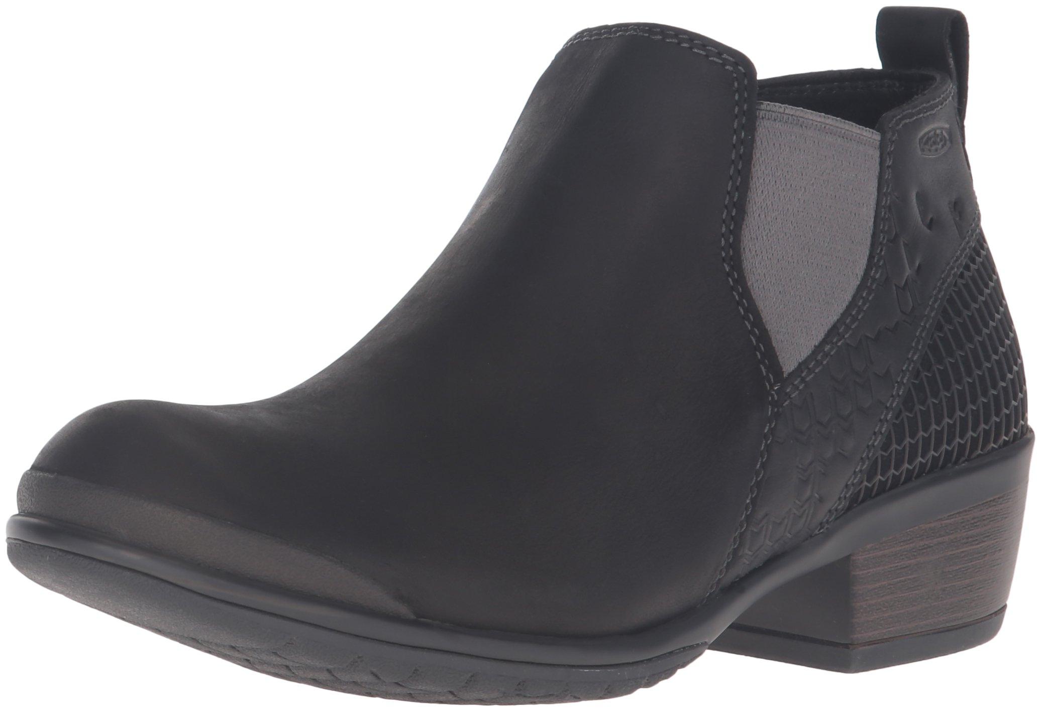 KEEN Women's Morrison Chelsea Shoe, Black, 8.5 M US
