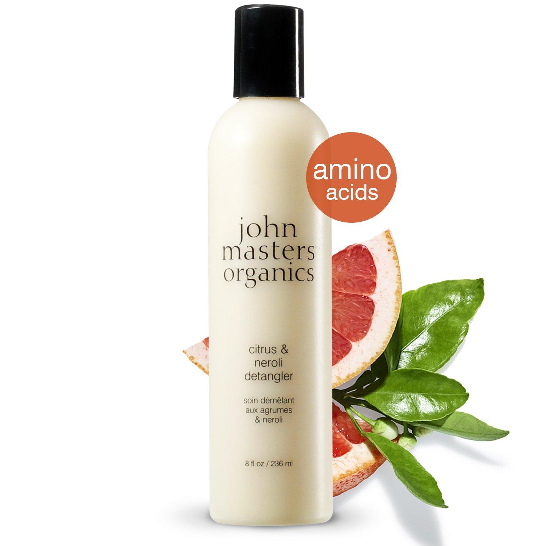 John Masters Organics - Citrus & Neroli Detangler - Light Conditioner Infused with Essential Oils - Nourish, Add Shine, Volume to Hair - 8 oz