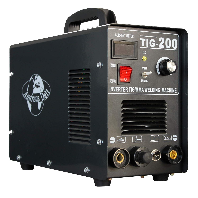 Máquina Soldadora Inverter Necesario / Wig + Mma 200 Encendido + ...