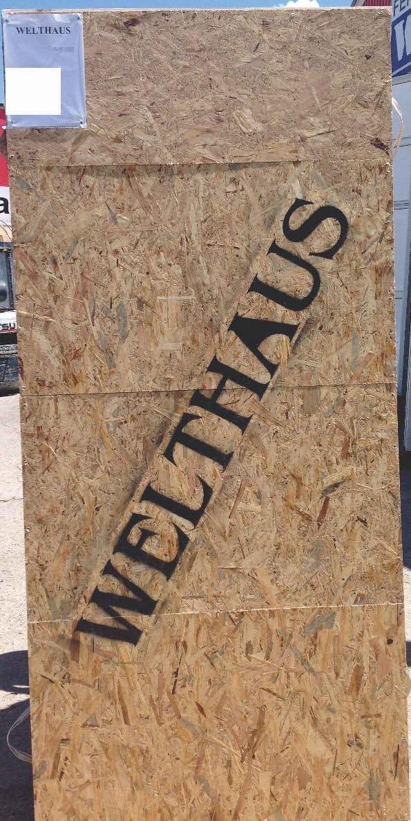Haust/ür Welthaus WH75 Standard Aluminium mit Kunststoff NY2010 Amsterdam T/ür 1000x2100mm DIN Rechts Farbe aussen anthrazit Innen wei/ß au/ßengriff BGR1400 innendrucker M45 Zylinder 5 Schl/ü/ßel
