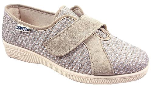 EMANUELA  2203 Malaga Argento Pantofole Donna Made in Italy  EMANUELA  97c39d