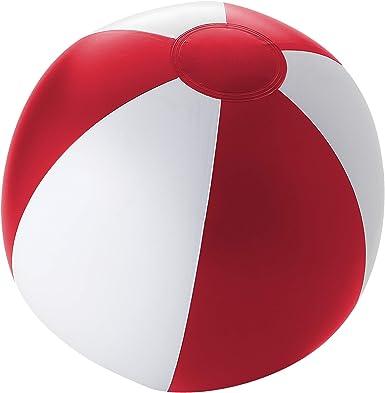 Bullet - Pelota hinchable de playa modelo Palma (25cm) (Rojo ...