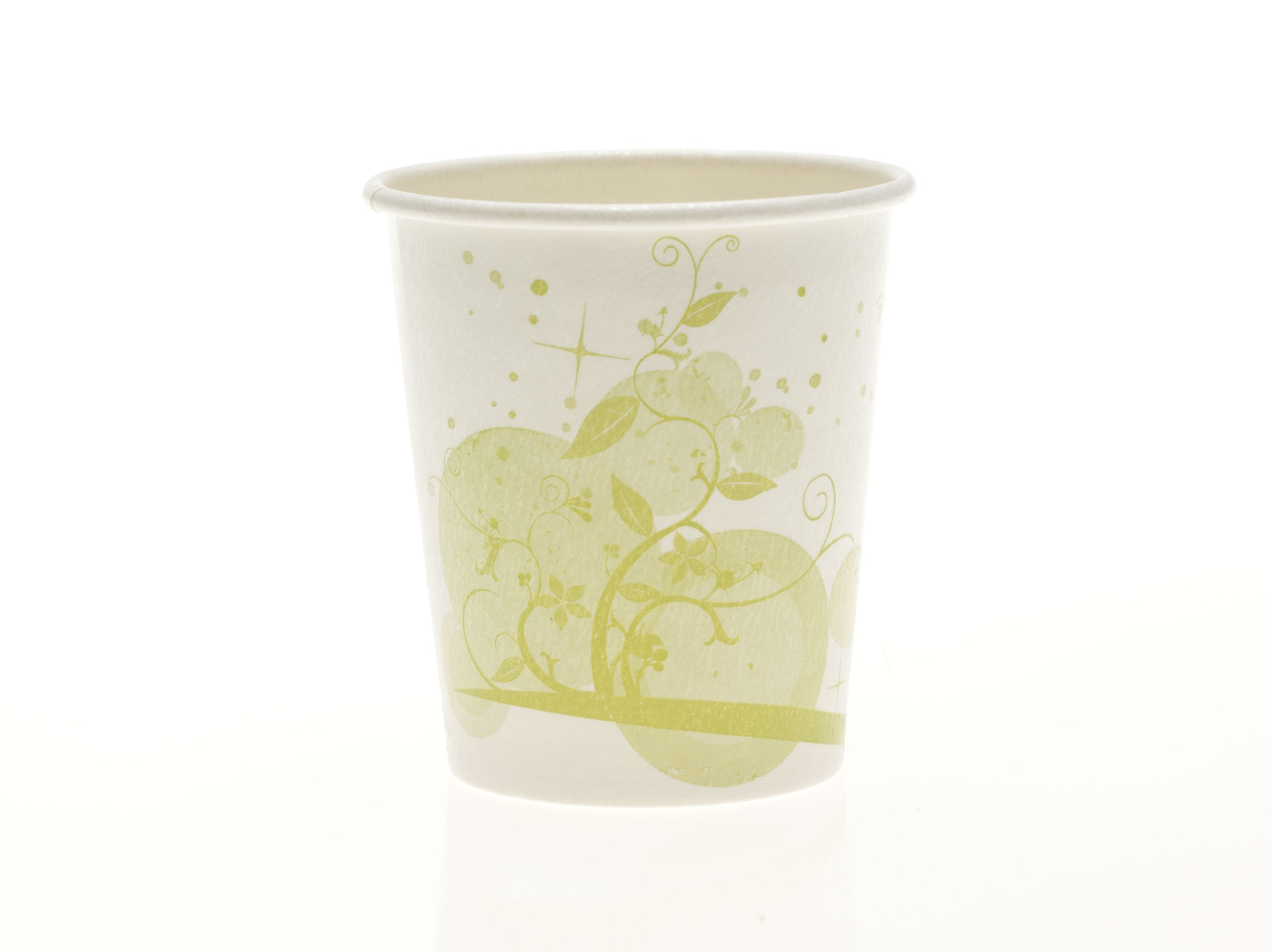 Medline NON05007 Disposable Cold Paper Drinking Cup, Green Nature Design, 7 oz (Pack of 2000)
