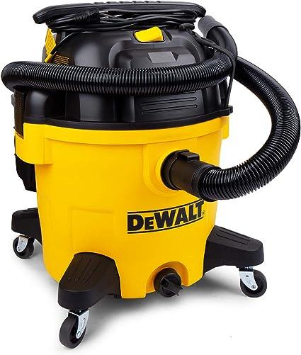 DeWALT DXV10P Aspiradora silenciosa de poliéster para seco y ...