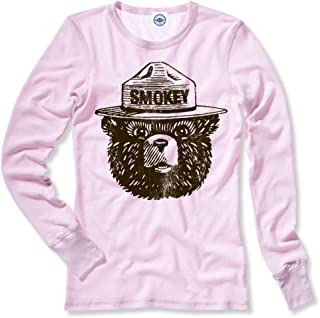 product image for Hank Player U.S.A. Official Smokey Bear Women's Thermal T-Shirt
