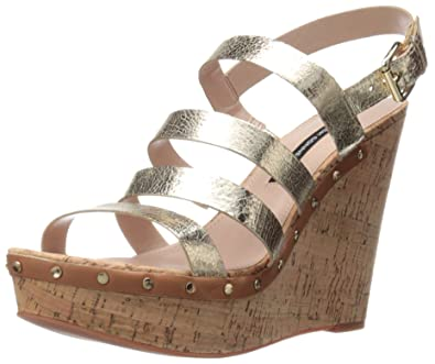 e582ac199744 Amazon.com  French Connection Women s Dion Wedge Sandal