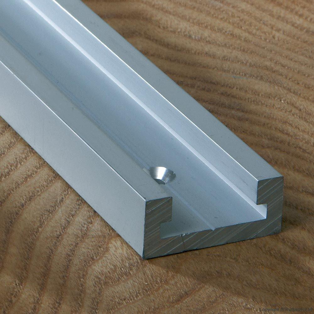 Klinkamz 1pcs Woodworking Chute T-Slot Track Stop Limiter Miter Aluminum Alloy High Accuracy
