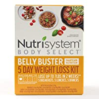 Nutrisystem® Body Select™ Belly Buster 5-Day Weight Loss Kit: Delicious Meals with SmartCarb Nutrition to Help You Lose Weight