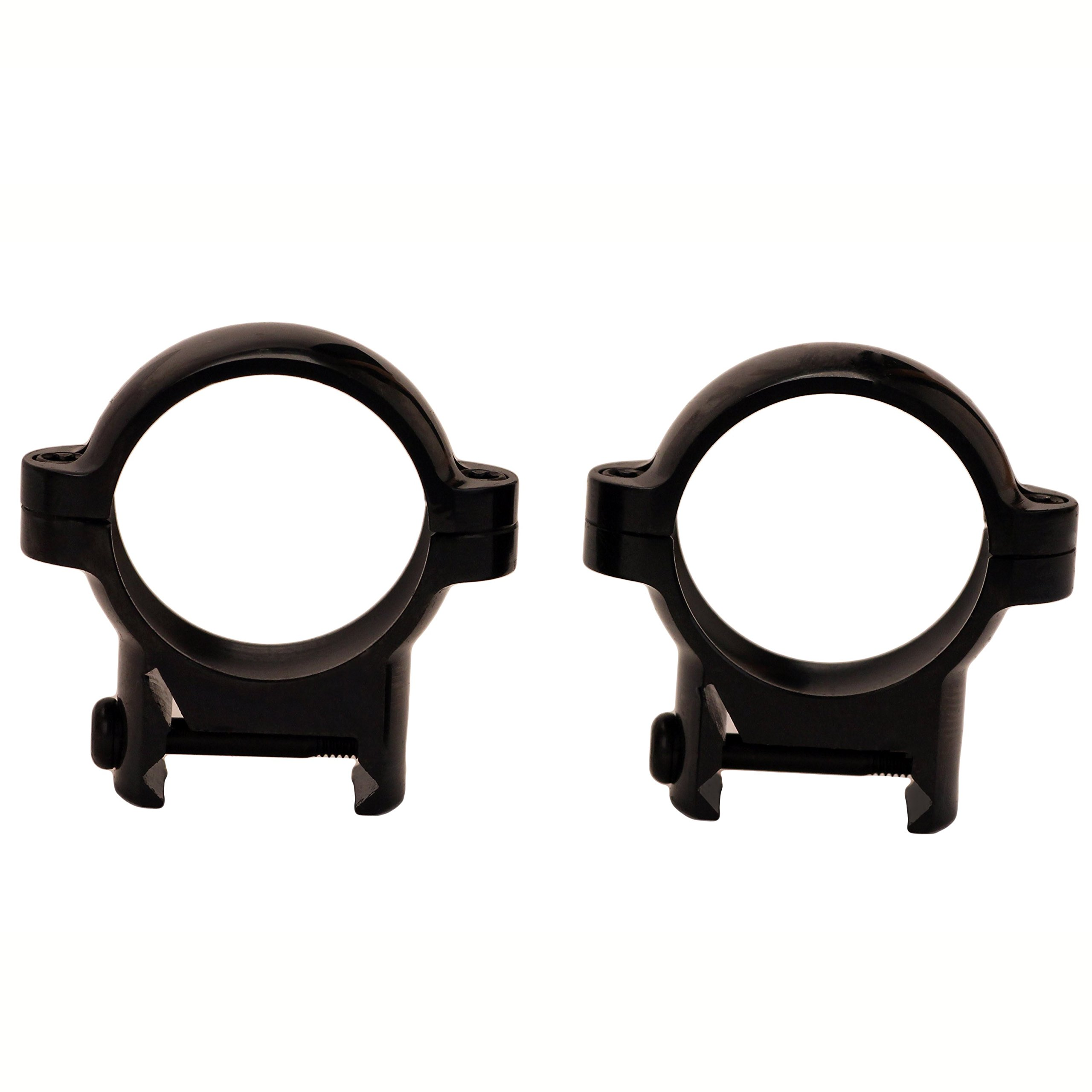Burris Optics Signature Zee Rings, Steel, Pos-Align Inserts, Weaver Style - Mounting Accessories, Burris Rings Mount by Burris Optics