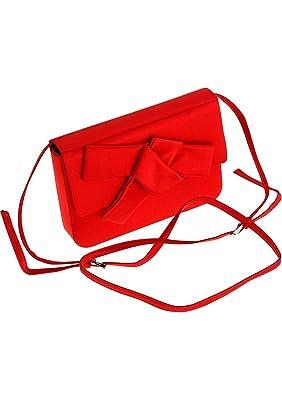 Prada , Pochette pour femme rouge Fuoco  Amazon.fr  Chaussures et Sacs 2a97a3cb30a