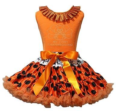 petitebella mi primera acción de gracias Baby Turquía naranja ...