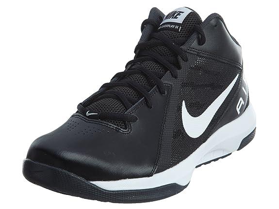 Scarpa da basket Nike Air The Overplay IX Wide nera bianca