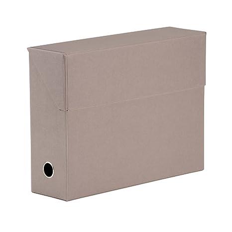 S.O.H.O. 1319452493 95 x 335 x 255 mm caja de archivo, color marrón