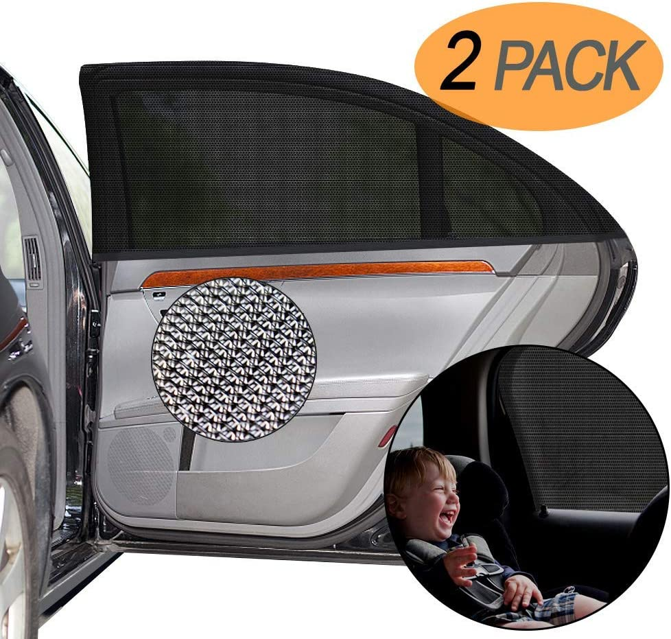 40x20 Fits Most Vehicles UV Sun Protection for Baby Adults Pets Portable Car Sun Shades for baby kids DYFFLE 2 Pack Car Window Shades Car Accessories