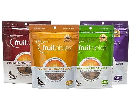Fruitables Baked Dog Treat Variety Packs