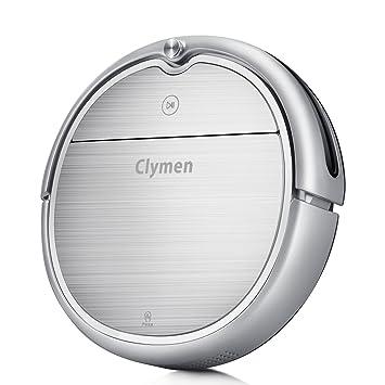 Clymen Q8 Aspiradora Robot 3 En 1 con Control De Voz, Aspiradora Robótica para Mascotas