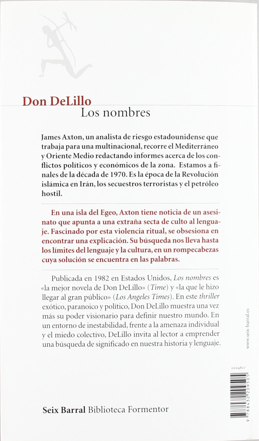 Los Nombres: Don DeLillo, Gian Castelli Gair: 9788432209505: Amazon.com: Books