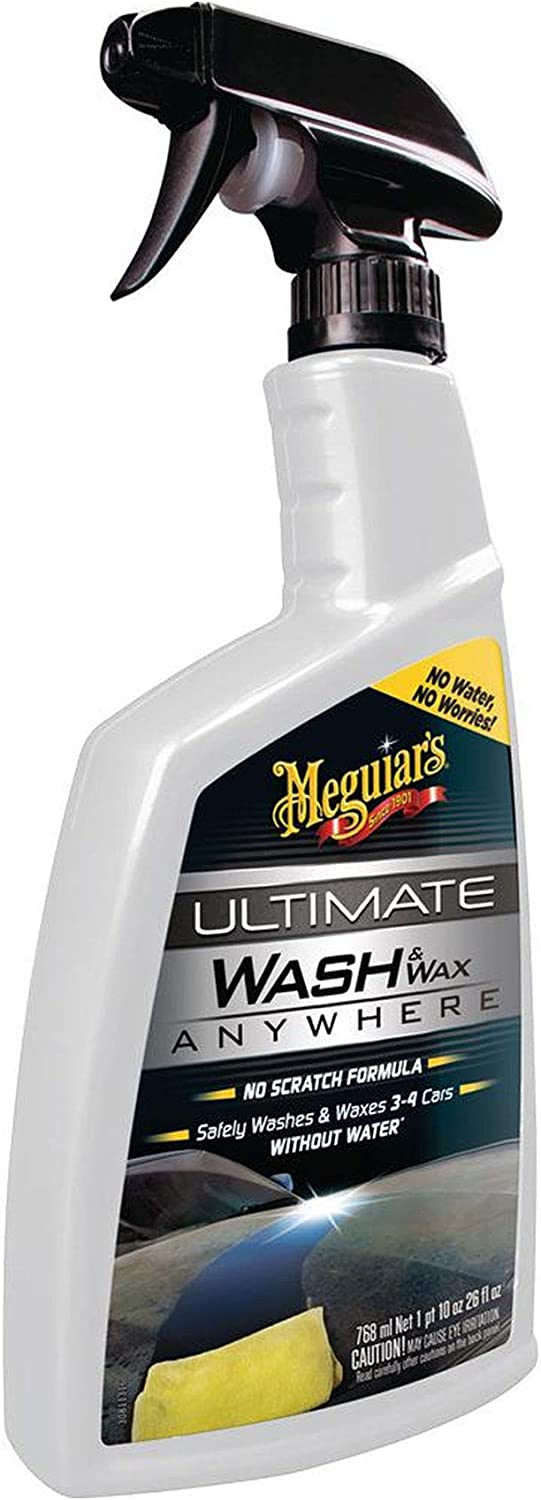 <strong>MEGUIAR'S Ultimate Waterless Wash & Wax</strong>
