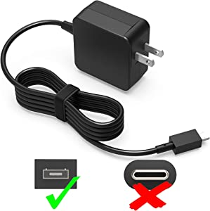 UL Listed 7.5Ft Extra Long AC Charger Fit for Asus Chromebook C201PA C201P C201 C201PA-DS02 Laptop Portable Power Supply Adapter Cord