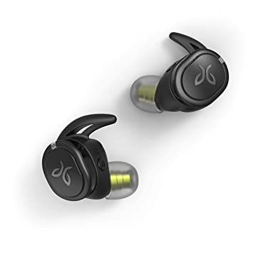 Jaybird Run XT - Wireless Headphones (Waterproof, Aerodynamic Design,  Compatible with Siri and Google Assistant, Rechargeable Battery) Black/Flash