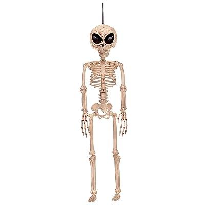 Crazy Bonez Alien Skeleton - Bone Color: Toys & Games