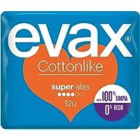 Evax Cottonlike Super Compresas con Alas - 12