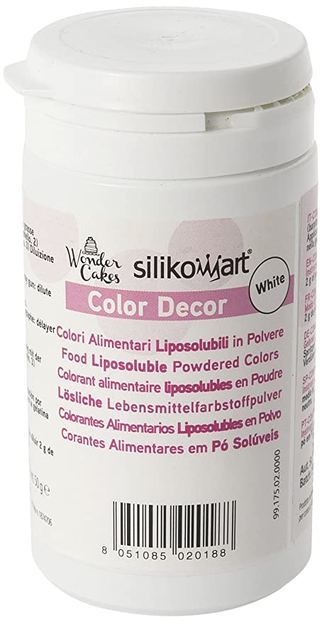 Silikomart CLD005 Colorante alimenticio en Polvo liposoluble, Color ...