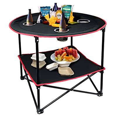 Portable Folding Picnic Table Outdoor Camping Table with Storage Bag : Industrial & Scientific