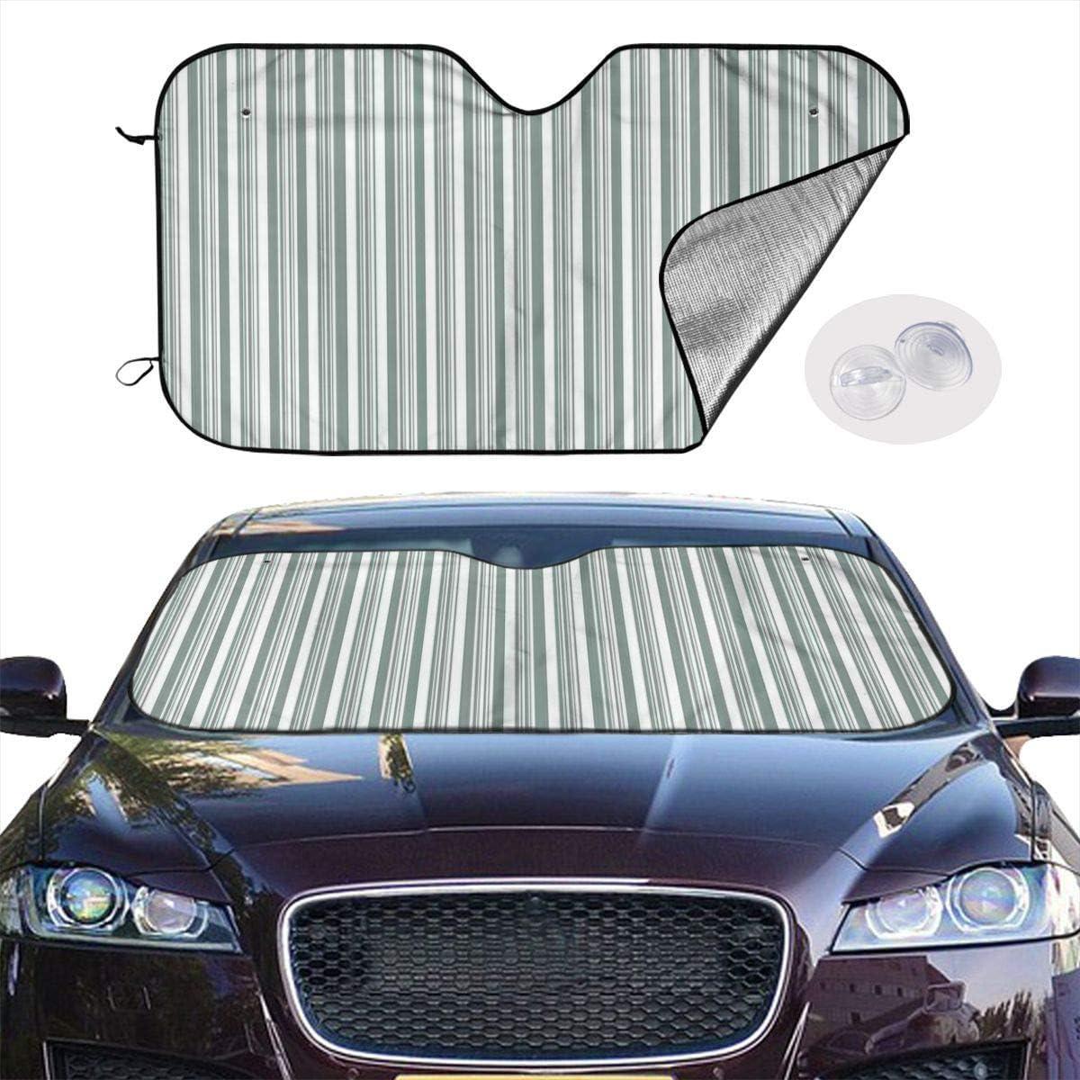 passgenau Spiegelfu/ßaussparung fahrzeugspezifisch Sonnenschutzstreifen Windschutzscheibe inkl VGIVLST1T Frontblendstreifen