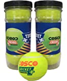 Cosco Cricket Plus Light Weight Cricket Ball (Yellow)