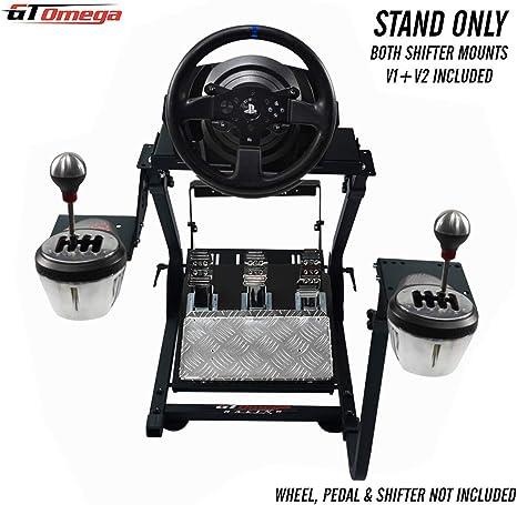GT Omega PRO Soporte para Volante para Thrustmaster T300 RS Volante y Pedales de Respuesta de